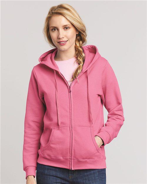 Heavy Blend™ Women's Full-Zip Hooded Sweatshirt - 18600FL