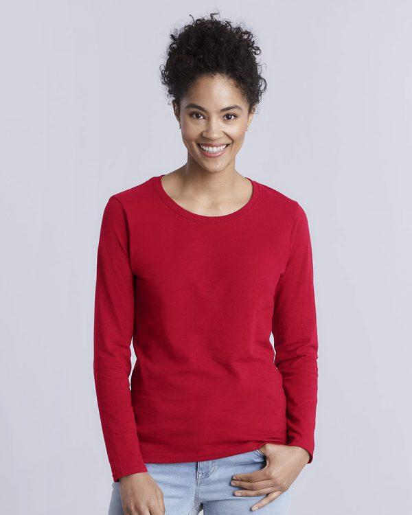 Gildan - Heavy Cotton™ Women's Long Sleeve T-Shirt - 5400L