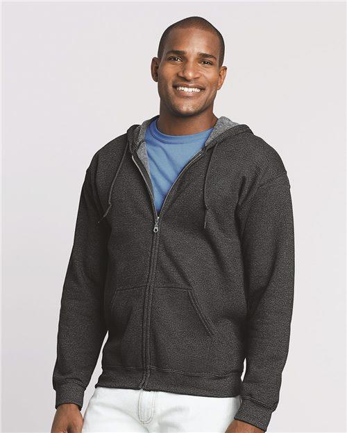 Heavy Blend™ Full-Zip Hooded Sweatshirt - 18600