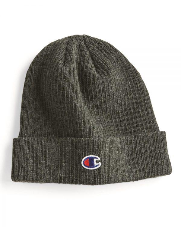 Champion - Tuque en tricot à revers côtelé - CS4003