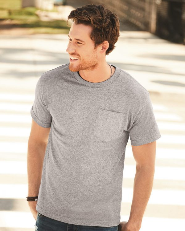 ALSTYLE - Classic Pocket T-Shirt - 1305