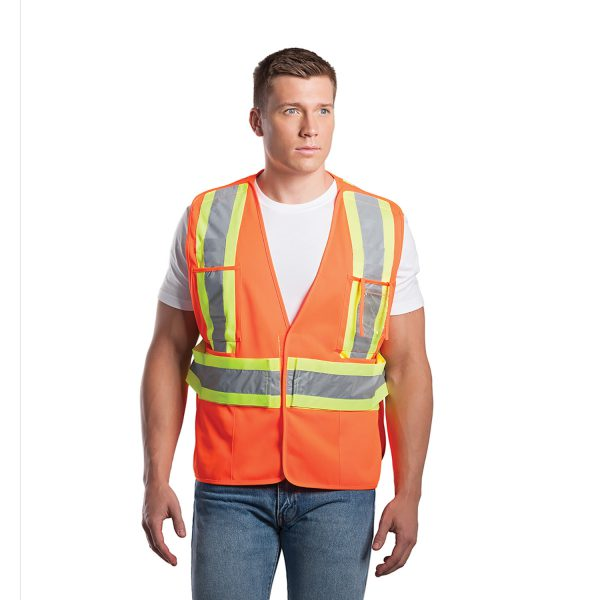 Protector – Veste De Sécurité A Haute-Visibilité – Taille Unique - L01170